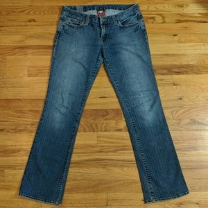 Lucky women's jeans made in USA
